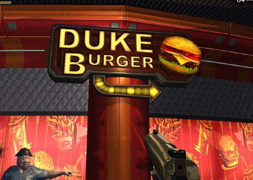 Duke burger...it's better than pink slime